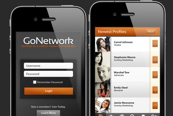 Gonetwork – MLM Application