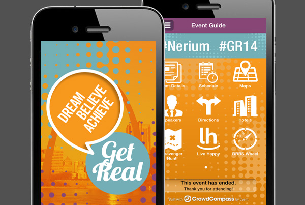Nerium GetReal 2014 Event App