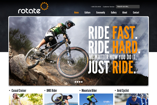 Rotate – Bike Riding Gear