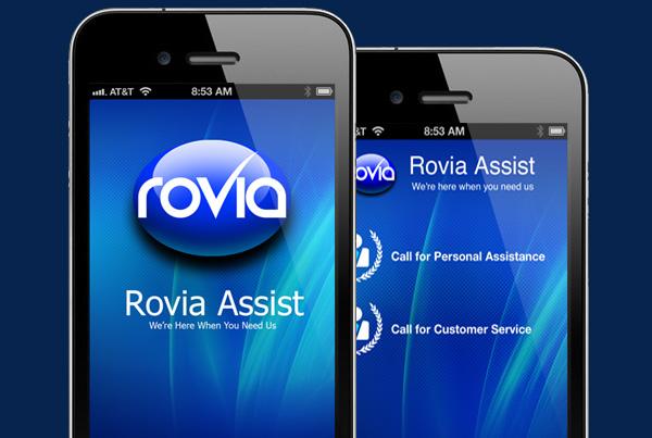 Rovia Assist App