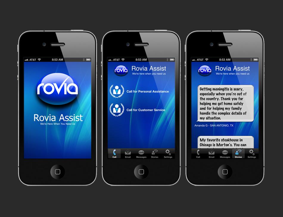 Rovia Assist App Design Vs Code