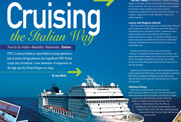 Cruising The Italian Way