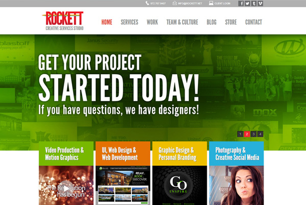Rockett Creative Services Studio