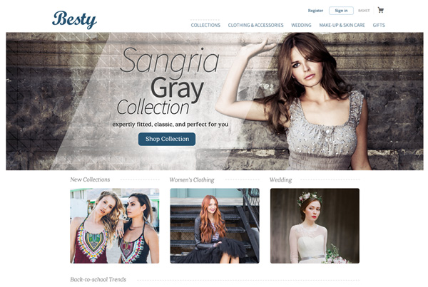 Besty – Women's Clothing Website